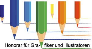 Honorar für Grafiker und Ilustratoren