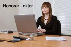 Honorar Lektor