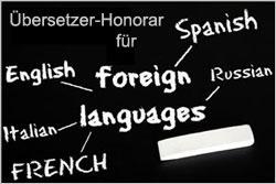 Honorar für Übersetzer