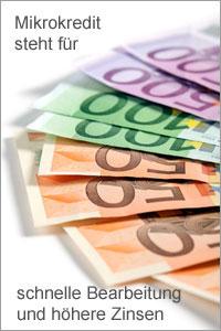 Mikrokredit für Freiberufler