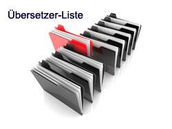Übersetzerliste